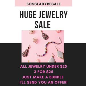 Jewelry - HUGE JEWELRY SALE! ALL ITEMS UNDER $25 - ARE 3/$25